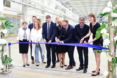 Ribbon-cutting at Lichtenfels campus