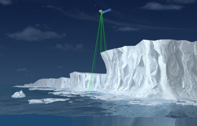 Ice monitoring with space lasers