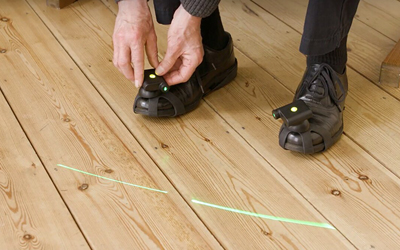 Walk the line: Laser trace reduces freezing episodes in Parkinson's patients.
