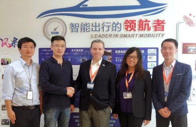 Quanergy and Geely formalize their partnership.