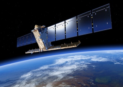European partnership: Sentinel-1, the first of ESA's Copernicus satellites.