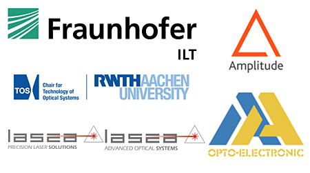 Multiflex involves Fraunhofer ILT, RWTH Aachen University, Amplitude Systèmes and others.