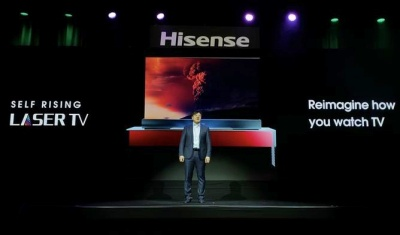 Hisense has launched three new Laser TV products.