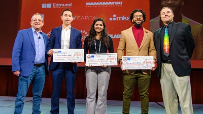 Early Career Entrepreneur Travel Grant recipients for 2020 SPIE Startup Challenge.