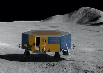 Moon with a view: imaging systems on board