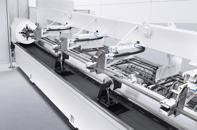 LoadMaster Tube loading automation enables large-scale production.