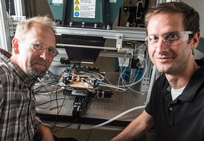 John Geisz and Ryan France fabricated a solar cell that is nearly 50% efficient.