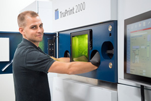 New TruPrint 2000 3D printer.