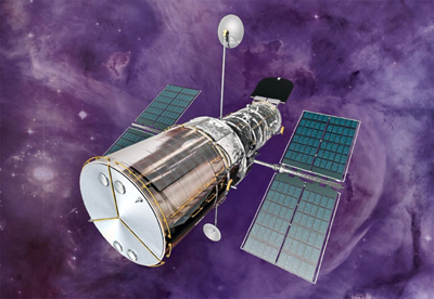 Hubble is equipped with several different instruments.