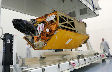 Readying for launch: Sentinel-6 being prepared