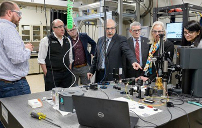 DOE's Paul Dabbar, Argonne, UChicago scientists discuss quantum entanglement.
