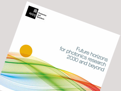 The long view: the report outlines  the UK's photonics future.