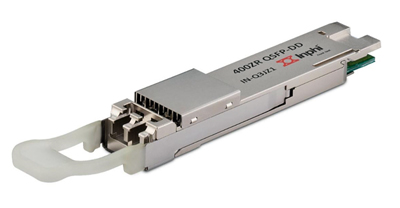 Seamless upgrade: Inphi's Colorz® II DWDM QSFP-DD transceiver.