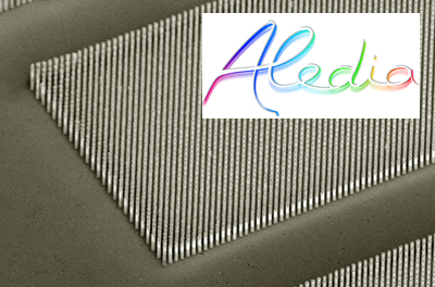 Significant investment: Aledia's nanowire-LED technology.