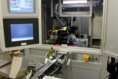 Expanded facilities: custom production machines from OpTek Systems.