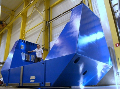T250 telescope: under construction