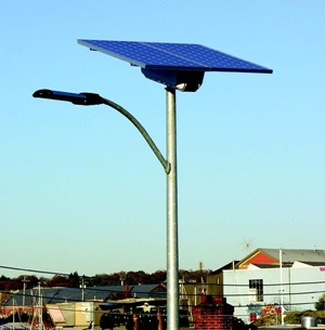 Carmanah solar lamps by day...
