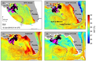 Modeling the Deepwater slick