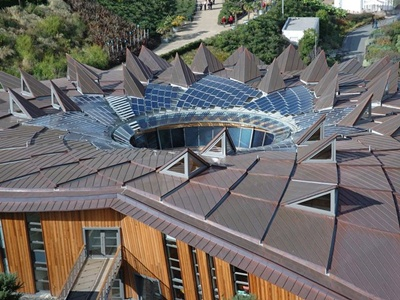 Eden Project - solar roof