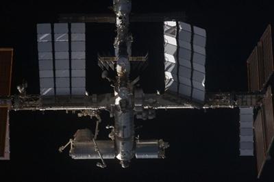 International Space Station solar array