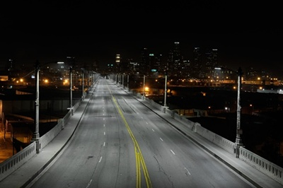 Los Angeles' LED streetlight retrofit