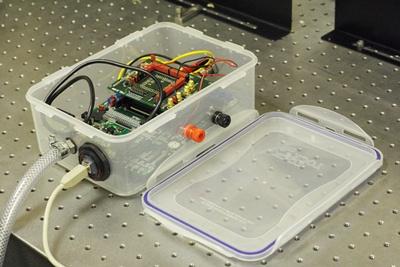 Landmine sensor