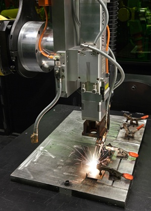 Lincoln Electric laser weld