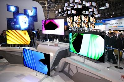 Samsung's super OLED TVs
