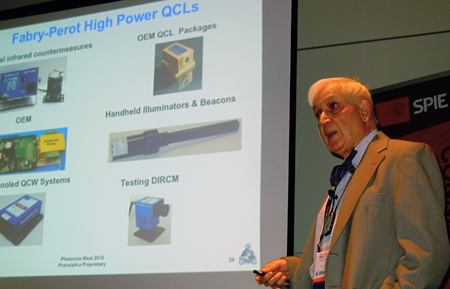 Kumar Patel describes QCL advances at Pranalytica.