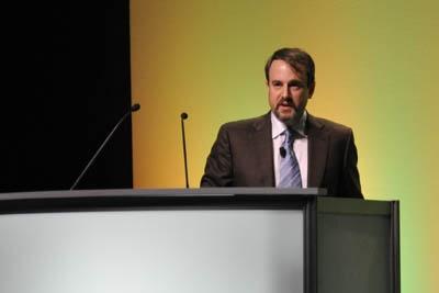 Adam Wax speaks at BiOS 2012
