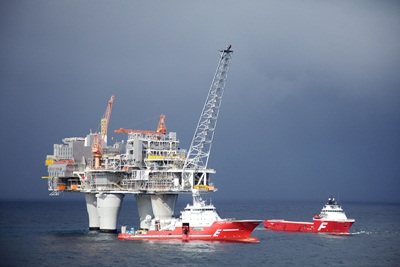 Statoil platform