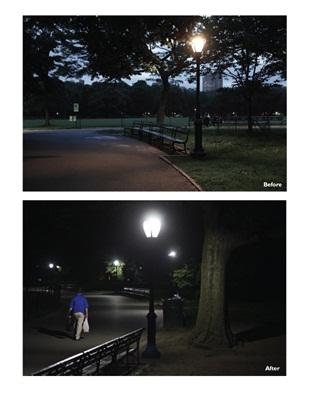 Central Park: lighting upgrade