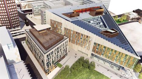 Fraunhofer's home: Strathclyde University's Technology and Innovation Centre.