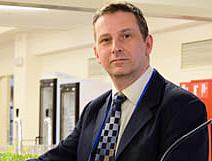 Ronan Burgess, of the EC's Photonics Unit.