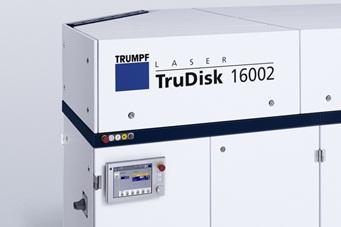Trumpf's 16kW thin-disk laser