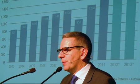 Man of vision: the VDMA's Patrick Schwarzkopf.