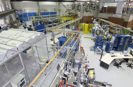 The new EUV beamline at the Metrology Light Source.