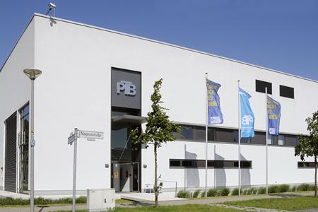 PTB's Metrology Light Source building in Braunschweig.