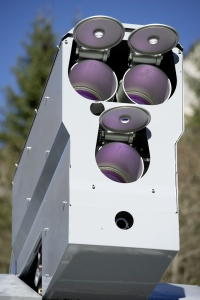 Skyguard radar detects targets at 50m/s.