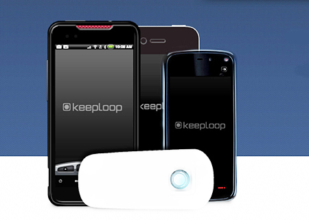 Micro-phone: The device from VTT and Keeploop.