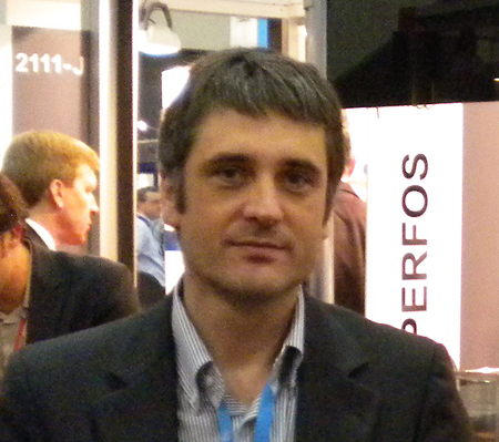 Brittany's here: David Méchin, general manager of Photonics Bretagne.