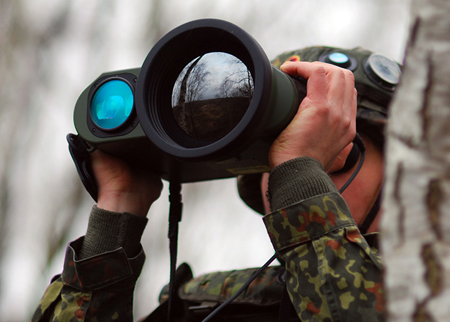 On the lookout: Jenoptik Defense Inc. is seeking new business from American military markets.