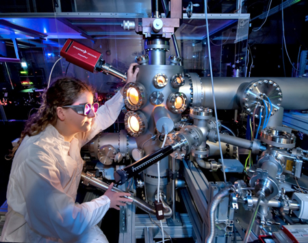 Higher power: Laser research at Berlin's Max Born Institute.