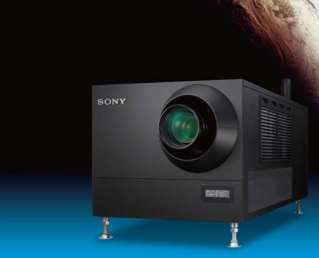Screen stars: Sony and LLE partnership for novel 3D cinema.