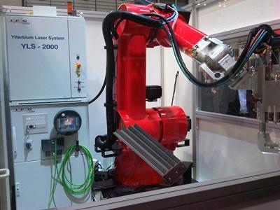 IPG fiber laser system