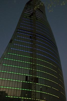 Baku towers