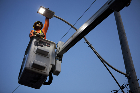 Streetview: LED street-lighting is ready to be scaled up across the globe.