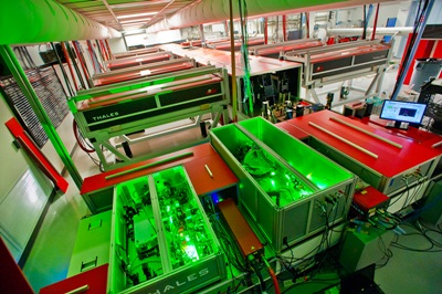 BELLA laser at the Berkeley Lab