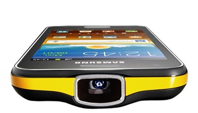 Projector phone: Samsung's Galaxy Beam