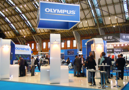 Olympus was a key exhibitor at the EMC 2012 exhibition.